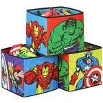 more details on Marvel  Avengers Storage Box Cubes.