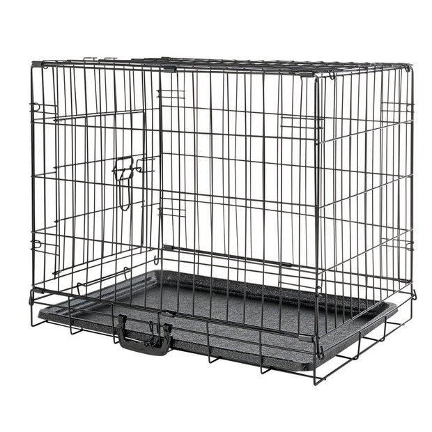 buy single door pet cage small at your. Black Bedroom Furniture Sets. Home Design Ideas