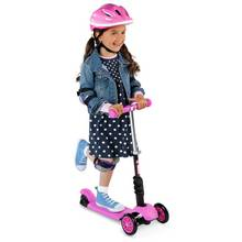 Yglider 3 In 1 Scooter Black Pink