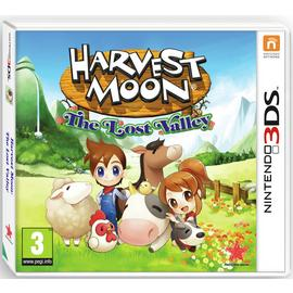 Harvest Moon: The Lost Valley Nintendo 3DS Game