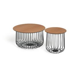 Habitat Wire Frame Bird Cage Coffee and Side Tables