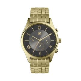 Spirit Men's Gold Plated Bracelet Watch