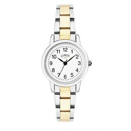 Limit Ladies Two Tone Stainless Steel Bracelet Watch