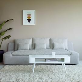 Habitat Bumble Coffee Table - White