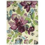 Allure Bloom Rug - 120x70cm - Purple