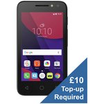 more details on Virgin Alcatel PIXI 4 (4) 3G Mobile Phone - Black.