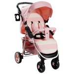more details on My Babiie Billie Faiers MB30 Pink Stripe Pushchair.