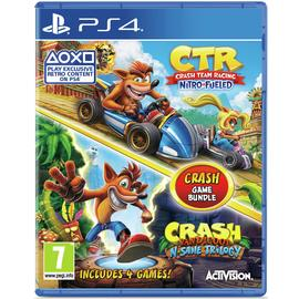 Crash Bandicoot & Crash Team Racing PS4 Games Bundle