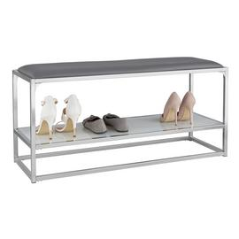 Argos Home Marble Shoe Bench