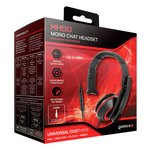 more details on XH 50 Wired Mono Headset - Red.