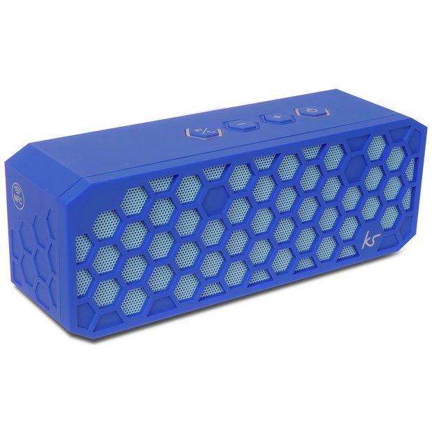 Buy Kitsound Hive 2 Bluetooth Speaker- Blue