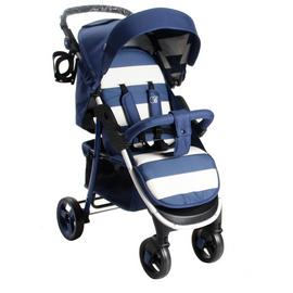 My Babiie Billie Faiers MB30 Stripe Pushchair - Blue