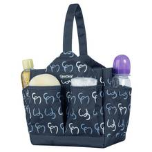 Clevamama Alessia Baby Change Caddy - Navy.