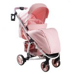 more details on My Babiie Billie Faiers MB100 Pink Stripe Pushchair.