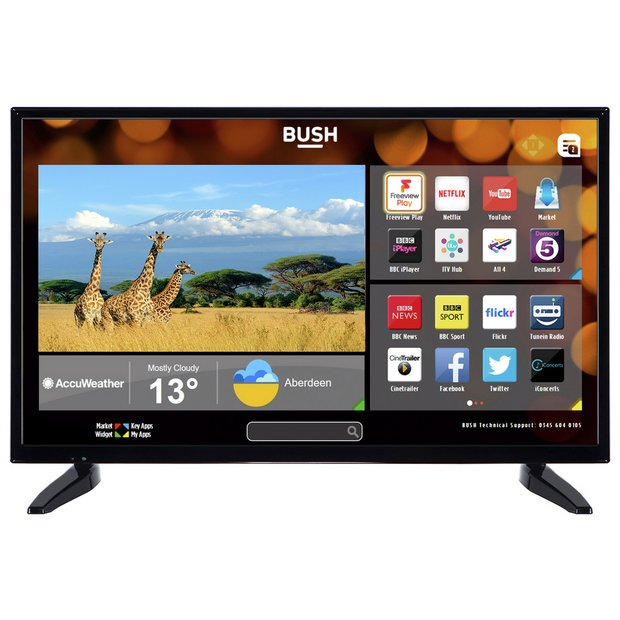 buy bush 32 inch hd ready smart tv at your online shop for televisions. Black Bedroom Furniture Sets. Home Design Ideas