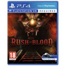 Until Dawn: Rush of Blood PS4 Game
