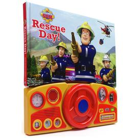 Fireman Sam Steering Wheel Sound Book.