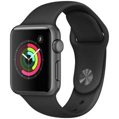 Apple Watch S1 42mm Space Grey / Black Sport Band