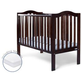 Baby Elegance Sarah Cot and Mattress - Coco