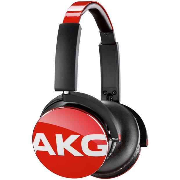 Buy AKG Y50 On-Ear Headphones - Red at Argos.co.uk - Your