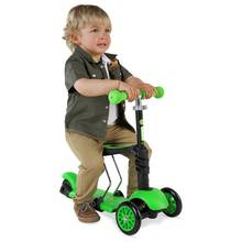 Yglider 3 In 1 Scooter - Black Green