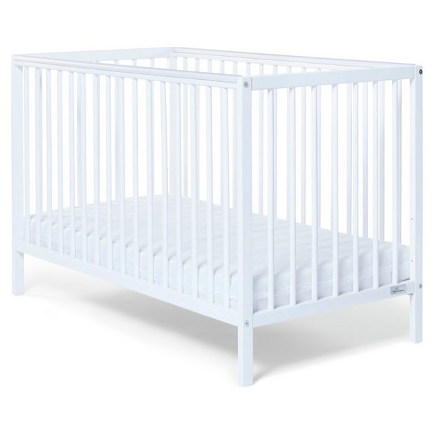 buy baby elegance kim cot white cots cribs and cot. Black Bedroom Furniture Sets. Home Design Ideas