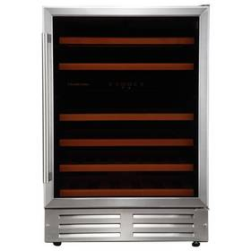 Russell Hobbs 46 Bottle Wine Cooler - Stainless Steel