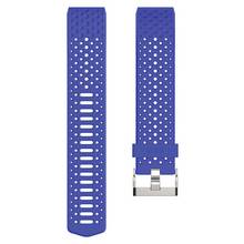 Fitbit Charge 2 Sports Blue Accessory Wristband - Large