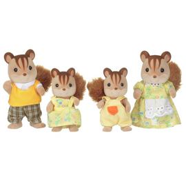 Sylvanian Families Walnut Squirrel Family.