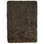 more details on Heart of House Bliss Deep Pile Shaggy Rug - 160x230 - Mocha.