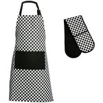 more details on Premier Housewares Check Mate Apron and Oven Glove Set.