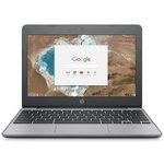HP Chromebook 11.6 Inch Intel Celeron 4GB 16GB - Grey