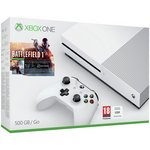 more details on Xbox One S 500GB Console with Battlefield 1 Bundle.