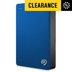 Seagate Backup Plus 4TB Portable Hard Drive - Blue