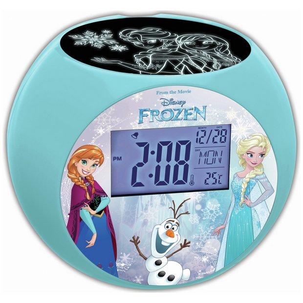 buy lexibook disney frozen projector alarm clock at your online shop for clock. Black Bedroom Furniture Sets. Home Design Ideas