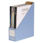 more details on Fellowes Bankers Box Style 10 Pack Magazine File Box - Blue.