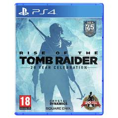 Rise of the Tomb Raider: 20th Anniversary PS4 Game
