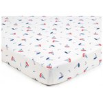 more details on BreathableBaby 2 Cot Sheets - By The Sea.
