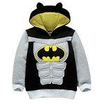 more details on Batman Boys' Muscle Hoodie - 2-3 Years.
