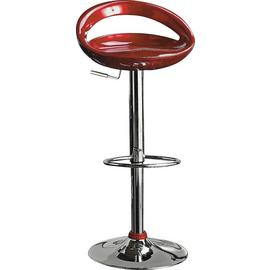 Argos Home Ottawa Gas Lift Bar Stool - Red