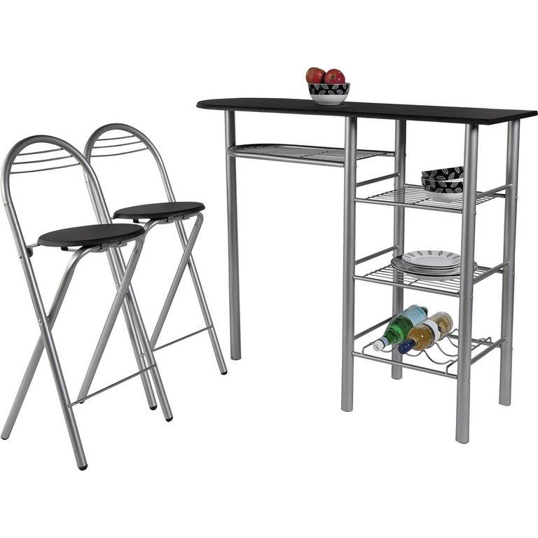 Buy HOME Amelia Breakfast Bar amp 2 Chairs Black at Argos  : 6002284RSETMain768ampw620amph620 from www.argos.co.uk size 620 x 620 jpeg 38kB