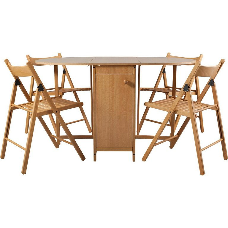Buy HOME Butterfly Oval Dining Table and 4 Chairs Oak at  : 6006613RSETMain768ampw620amph620 from www.argos.co.uk size 620 x 620 jpeg 42kB