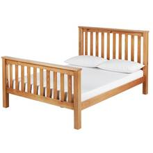 Collection Maximus Kingsize Bed Frame - Oak Stained