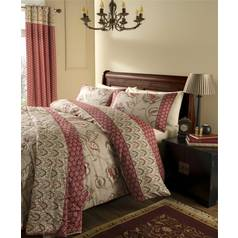 Catherine Lansfield Kashmir Cotton Duvet Cover Set - King