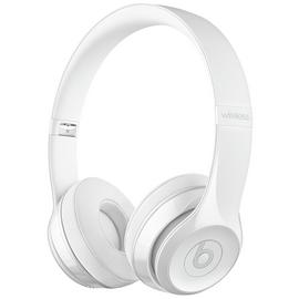 Beats by Dre Solo 3 On-Ear Wireless Headphones - Gloss White