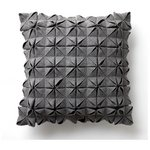 more details on Heart of House Origami Cushion - Grey.