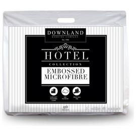 Downland Embossed Soft to Touch 10.5 Tog Duvet - Superking
