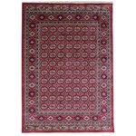 Pasha Ruby Rug - 112x170cm - Red and Gold