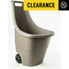 Keter Taupe Easy Go Breeze Wheel Barrow