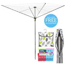 Minky Extra Breeze 50m 4 Arm Rotary Airer